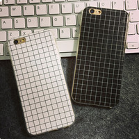 Unique Grid iPhone 7 se 5s 6 6s Plus Case + Gift Box-75