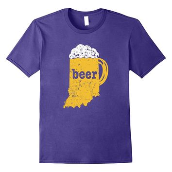 Beer Mug Indiana Shirt Personalized Beer Pitcher T Shirt