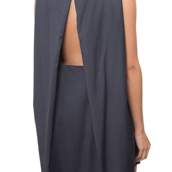 Kaarem - Boatneck Open Back Dress