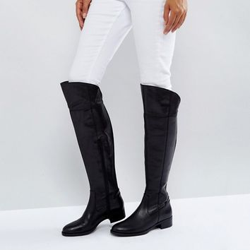 Dune Teigen Knee High Boots at asos.com