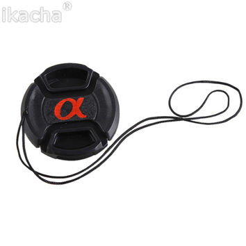 49mm 52mm 55mm 58mm 62mm 67mm 72mm 77mm 82mm Snap-On Lens Front Camera Lens Cap Cover For Sony Alpha DSLR Lens Protector