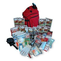 Wise 2 Week Deluxe Emergency Survival First Aid Bag Kit with Food & Water for 1 Person