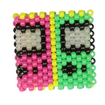 Glow In The Dark Gameboy Kandi Cuff