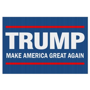 Make America Great Again - Trump Lawn Signs