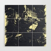 YASUO - Vintage Comic Line Art style - League of Legends Wood Wall Art by naumovski
