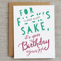 Funny Happy Birthday for Adult Card