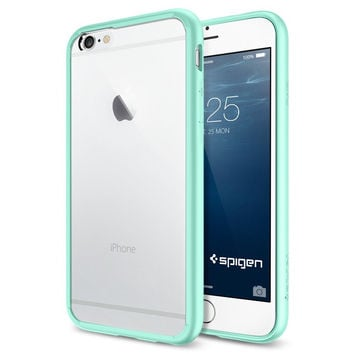The Mint and Clear Ultra Hybrid Bumper iPhone 6 6s or 6 6s Plus 90778414a7b1