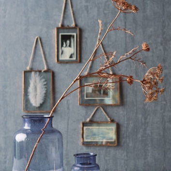 Copper Glass Hanging Frame