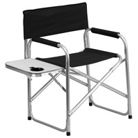 Aluminum Black Camping Chair