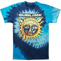 Sublime 40 Oz To Freedom Tie Dye T-shirt - Rockabilia