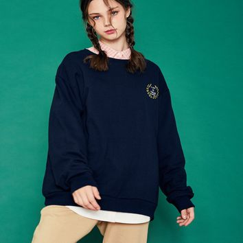 [LUV IS TRUE] (UNISEX)SD SPORTS MTM (NAVY)