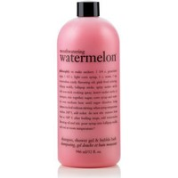 mouthwatering watermelon | shampoo, shower gel & bubble bath | philosophy