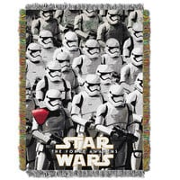 Star Wars Imperial Troops   Woven Tapestry Throw Blanket (48x60)