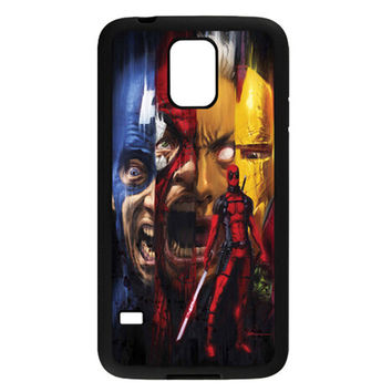 Deadpool Kills the Marvel Universe TPU Bumper Samsung Galaxy S5