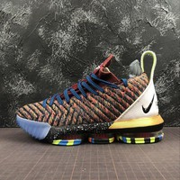 "Nike LeBron XVI LMTD 16 "" What The LeBron 5 ""  Basketball Shoes - Best Online Sale"