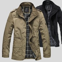 Men Casual Men's Fashion Plus Size Jacket [10824550787]
