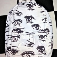 SWEET LORD O'MIGHTY! ANIME EYEZ BACKPACK