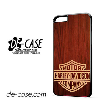 Harley Davidson Wood DEAL-5057 Apple Phonecase Cover For Iphone 6/ 6S Plus