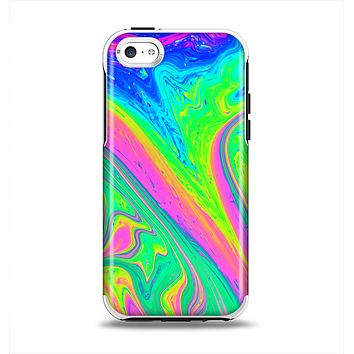 The Neon Color Fushion V3 Apple iPhone 5c Otterbox Symmetry Case Skin Set
