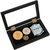 Harry Potter Gringotts Bank Coin Collection by Noble Collection: WBshop.com - The Official Online Store of Warner Bros. Studios