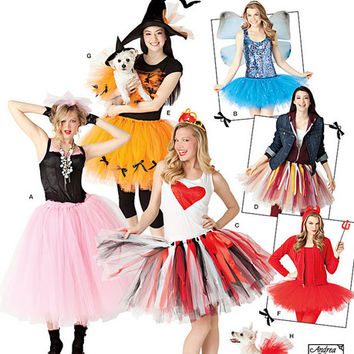 Adult Tutu Pattern, No Sew Pattern, New Simplicity 2074, Ballet Skirt Pattern, Costume Pattern, Dog Tutu Pattern