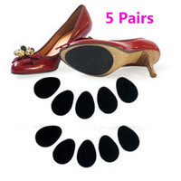 5 Pairs High Heels Non-slip Mat Silicone Rubber Forefoot Pads
