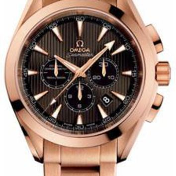 Omega - Seamaster Aqua Terra 150 M Co-Axial Chronograph 44 mm - Red Gold