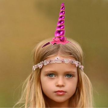 "Unicorn ""Horn"" Headband"