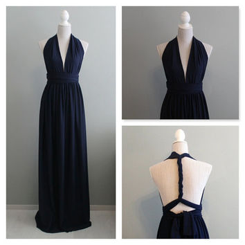 Plus size maxi infinity dress, plus size convertible dress, plus size bridesmaids dress, plus size infinity dress.