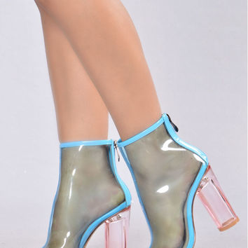 The Mel Boot - Blue