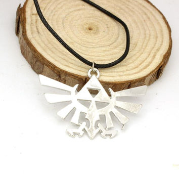 Legend of Zelda Necklace Triforce Logo Pendant Jewelry Game