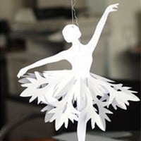 Pattern PDF and DIY Kit Holiday ornament Ballet dancers Instant Digital Download