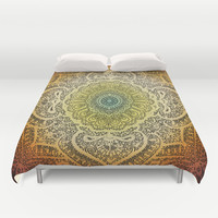 Bohemian Lace Duvet Cover by Jenndalyn | Society6