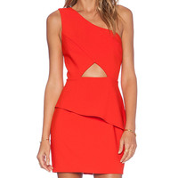 NBD x Naven Twins Think About It Dress in Orange