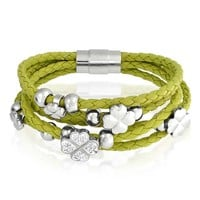 Bling Jewelry Five Clover Bracelet