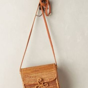 Sweetgrass Crossbody Bag by Anthropologie Brown One Size Bags