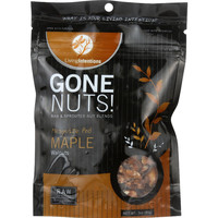 Living Intentions Walnuts - Gone Nuts - Mesquite Pod Maple - 3 Oz - Case Of 12