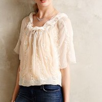 Aurellia Embroidered Peasant Top by Andree DeLair