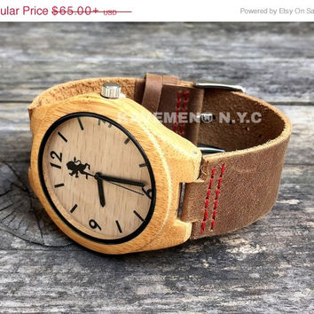 SALE Real Wood Watch. Mens Watch. Engrve Watch. Personalized Watch. Mens. Mens Watches. Mens Personalized Watch. Chicago Face. Kavemen.