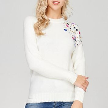 Gem Pullover Sweater
