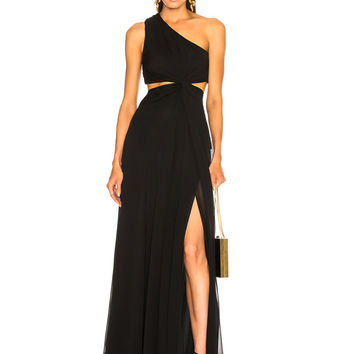 Cinq a Sept Goldie Dress in Black | FWRD