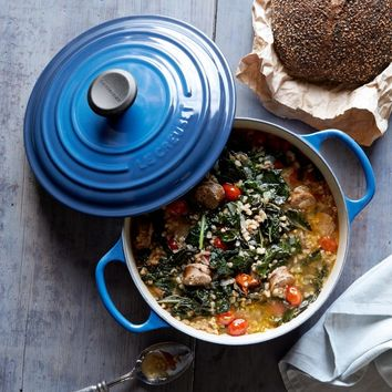 Le Creuset Signature Cast Iron Round Dutch Oven, 2 3/4-Qt.