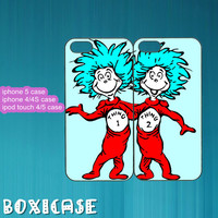 Best Friends,thing 1 and thing 2--iphone 4 case,iphone 5 case,ipod touch 4 case,ipod touch 5 case,in plastic,silicone and black,white.