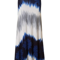 Before Dawn Maxi Skirt - Blue