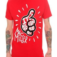 Mac Miller Gon' Be Ok Slim-Fit T-Shirt Size : Large