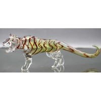 Tiger Color Changing Glass Pipe