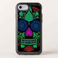 Colorful Sugar Skull Speck Presidio iPhone 8 Case