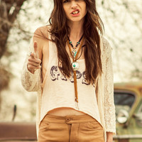 Cropped Gypsy Tee - Peach. | Spell & the Gypsy Collective