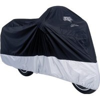 Nelson-Rigg MC-904-04-XL Deluxe All-Season Motorcycle Cover (Black, X-Large)