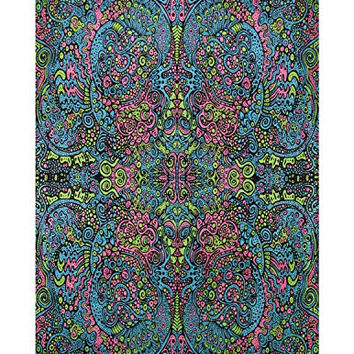Sunshine Joy 3D Psychedelic Art Tapestry Tablecloth Beach Sheet 60x90 Inches - Liquid E
